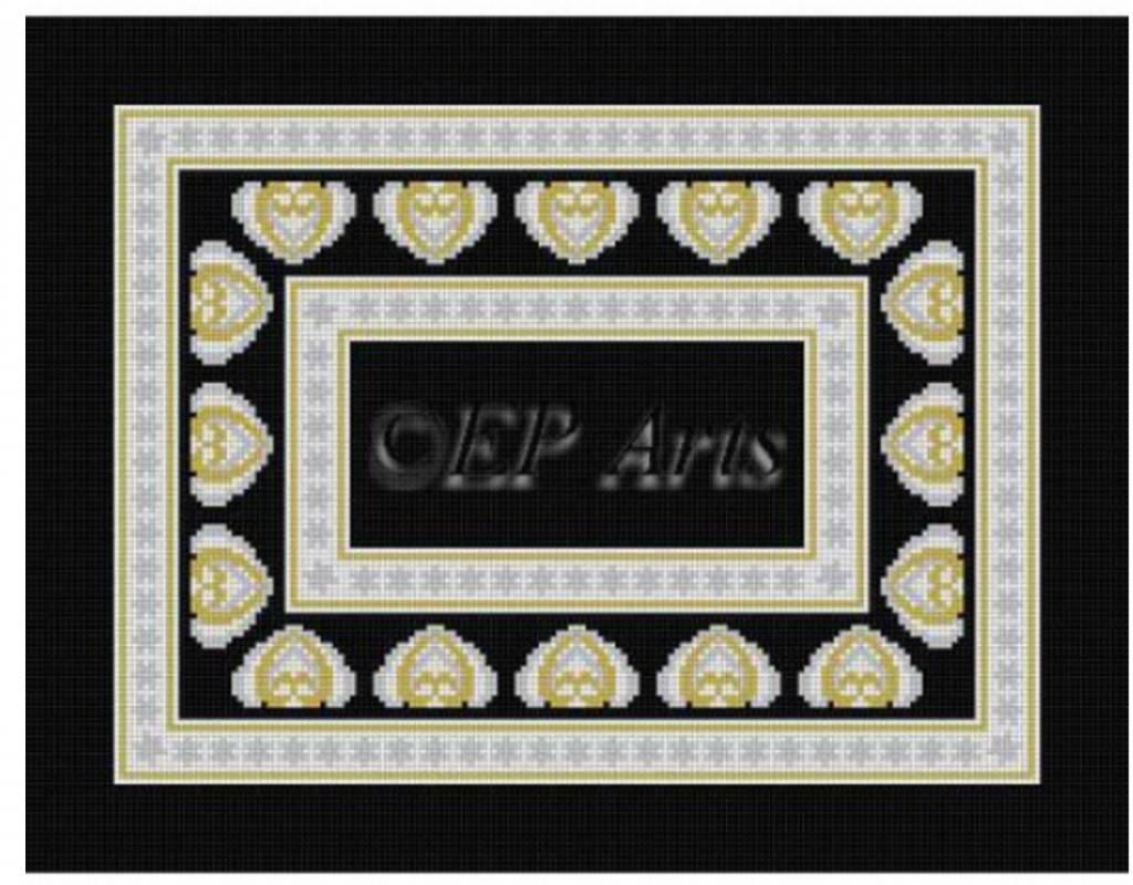 Canton Talli Bag Black/Gold/Silver