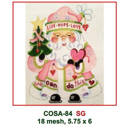 Breast Cancer Santa