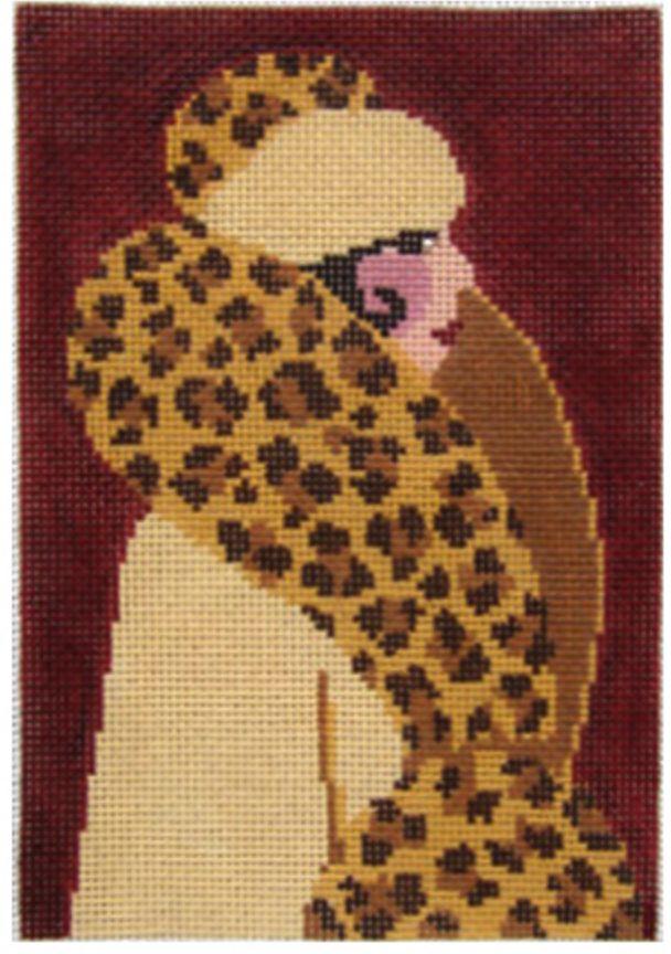 Leopard Coat Lady