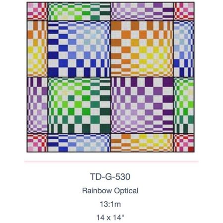 Blue/Orange/Green/Purple Geo G-530