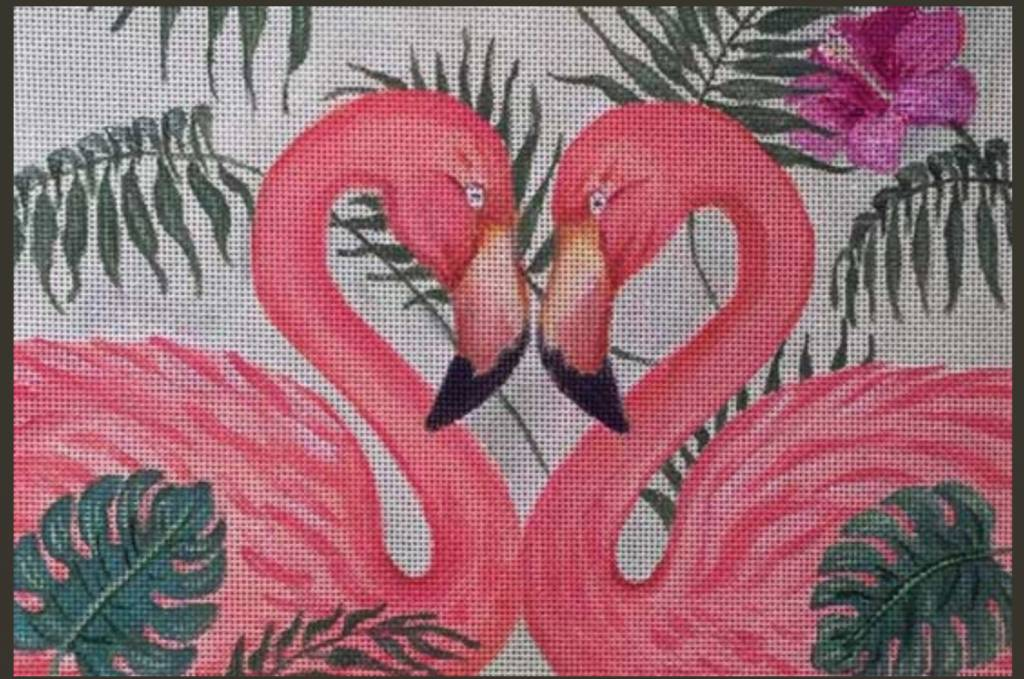Flamingo Pair