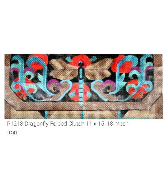 Dragonfly Folding Clutch