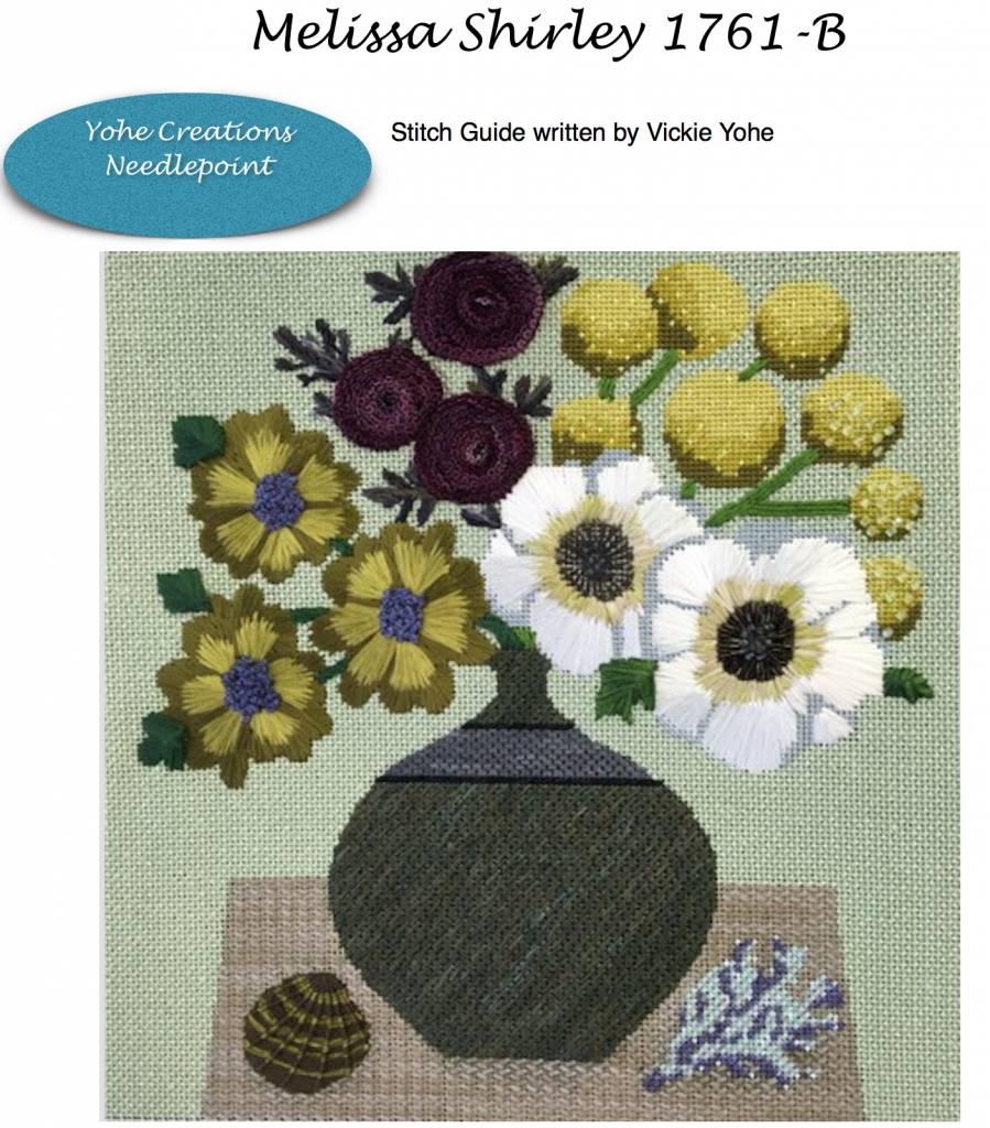 Stitch Guide Melissa Shirley 1761B