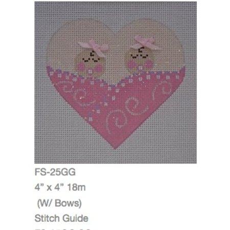 Twins Baby w/ Stitch Guide