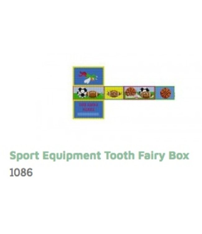 Sport Equipment Tooth Fairy Box
