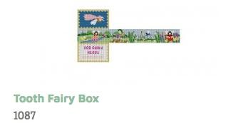 Fairies Tooth Fairy Box