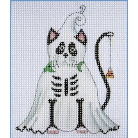 Ghost Black Cat