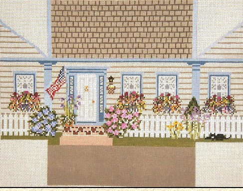 New England House Brick Cover