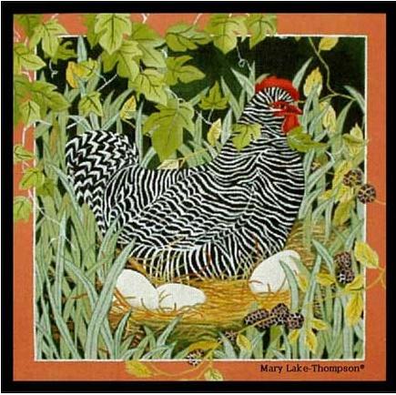 Hen & eggs