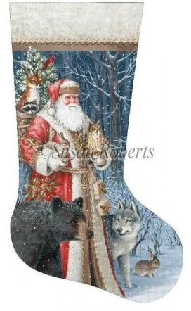 Woodland Territorial Santa