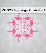 Flamingo Chair Back 13 ct.