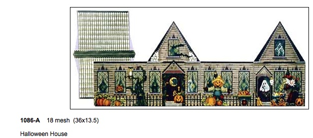 3D Halloween House