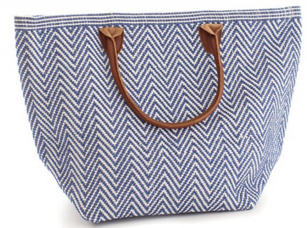 Le Tote Moyen Navy and Ivory