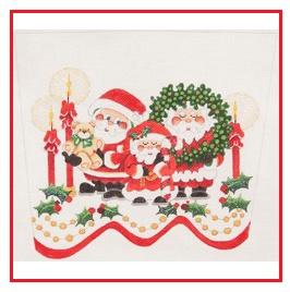Santa Family Topper