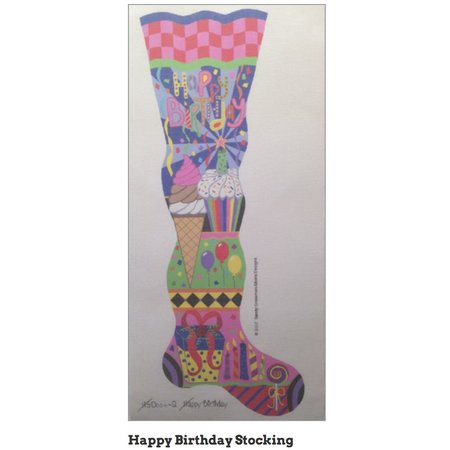 Happy Birthday Stocking