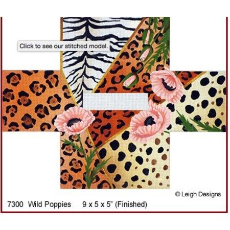 Wild Poppies Tissue Box