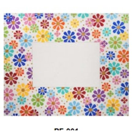 Happy Flowers Frame