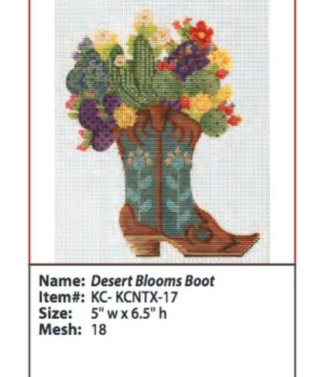 Desert Blooms Boot