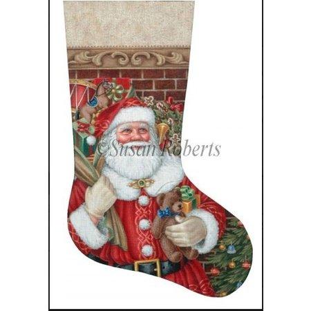 Santa Claus Bearing Gifts
