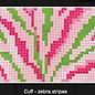 Cuff - Zebra Stripes