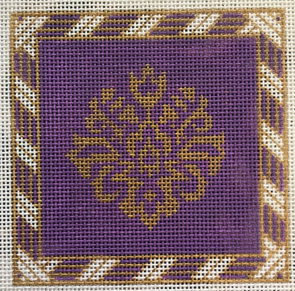Gold/Purple Peony