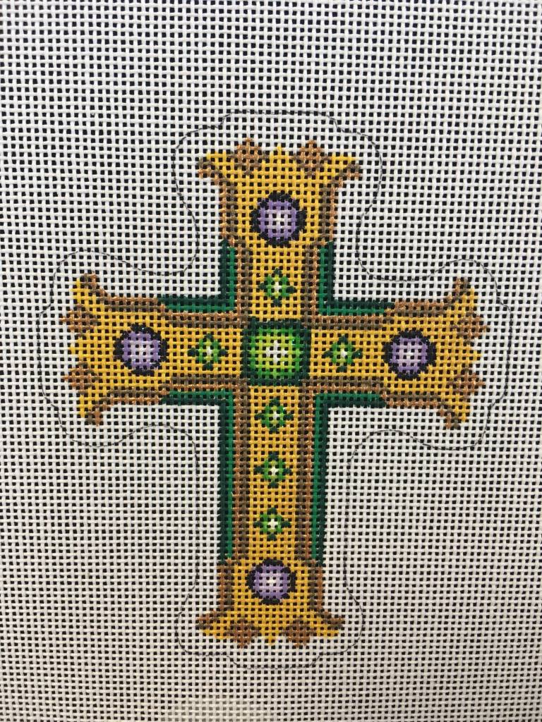 Cross Green and Gold