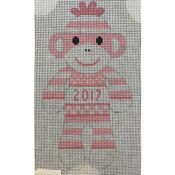 Pink 2017 Sock Monkey