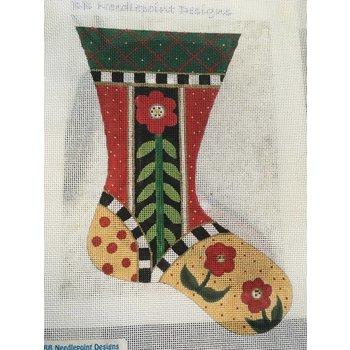 Mini Stocking with stitch guide #2