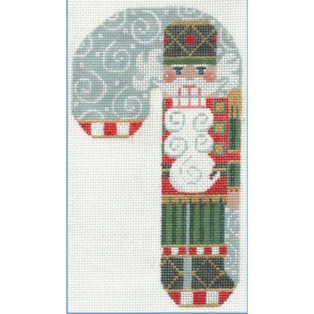 Nutcracker Santa Candy Cane 18M