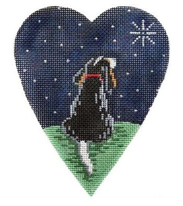 King Charles Spaniel Midnt. Heart