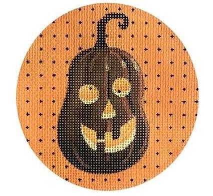 """Lantern Brown/Orange 4""""  Round"""