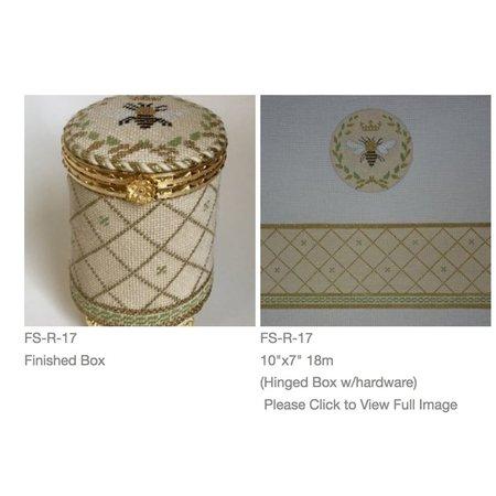 Bee Round Box