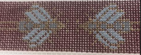 Bee Belt Brown and Blue