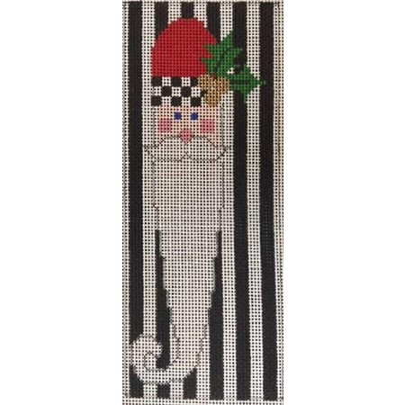 Santa Stripes w/ Stitch Guide