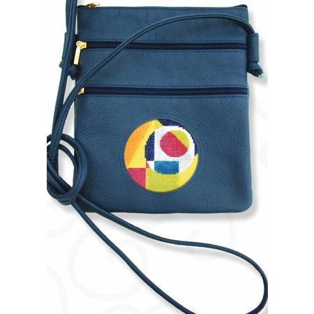 Leather Cross Body Bag (Canvas not Included)