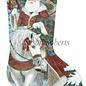 Santa on Horseback - Toe to Left (not pictured)