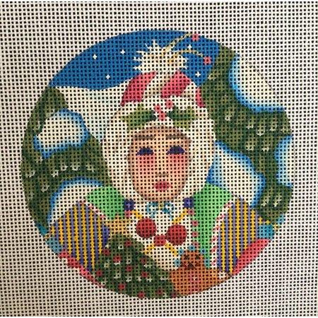 Nordic Maiden Ornament