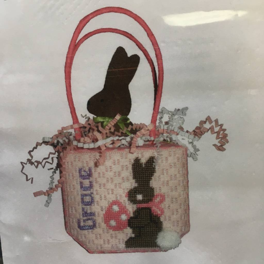 Chocolate Bunny Basket- Girl