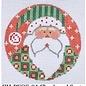 Checkered Santa