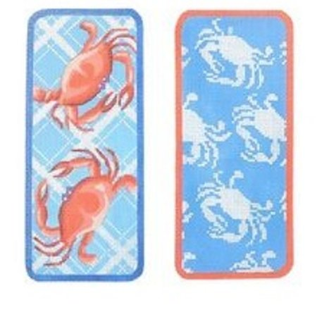 Two Blue Crabs Eyeglass Case