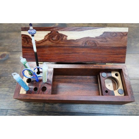 Wood Tool Box for Accessories