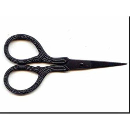 "Lantern Moon Scissors 4""  Black Scissors"