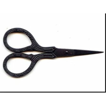 "Lantern Moon Scissors 3 1/2""  Black Scissors"
