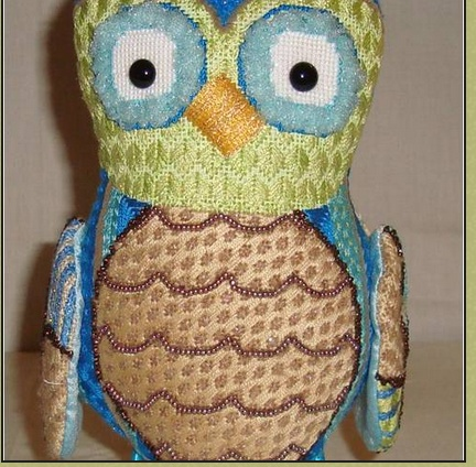 Ottis Owl - Canvas - Pic Shows Finished