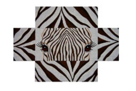 Zebra Eyes and Skins Brick Cover
