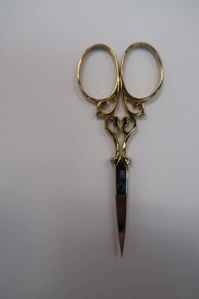 Scissors Gold Plated 3.5""