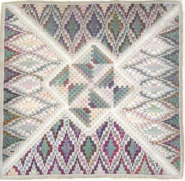 Intarsia iii - Counted Needlepoint