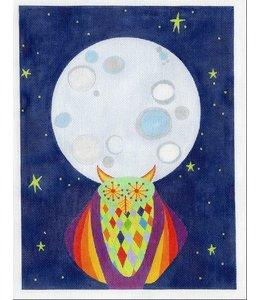 Zecca Big Moon Clock