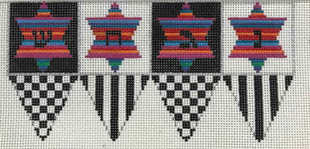 Checkered Dreidel