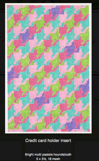 Bright Multi Pastel Houndstooth CC Insert